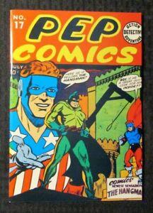 1974 FLASHBACK #16 VF 8.0 Reprint Pep Comics #17 Hangman / The Shield