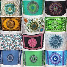 10pcs boho hippie mandala sarong yoga meditation tapestries wholesale