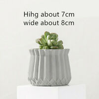 Creative Cement Silicone Pot Molds Handmade Flowerpot Cement Planter Mould