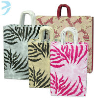 25 x PAPER CARRIER BAGS TWISTED HANDLE HIGH QUALITY GIFT BOUTIQUE BAG ITALIAN