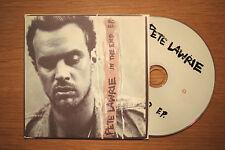 """PETE LAWRIE """"In The End E.P."""" 4 track promo CD [ Black Blue Souvenir Motel etc.]"""