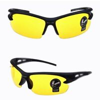 Hot Anti Glare Vision HD Glasses Prevention Yellow Driver Night Driving Sunglass