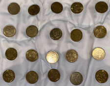 Chuck E Cheese Tokens Lot Of 2 1990s-2006