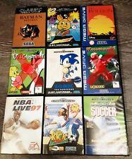 Lot 7 jeux SEGA Mega drive MD Batman Sonic Disney Looney Toons Zoom