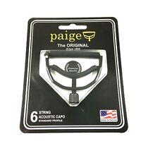 Paige Capo  6 string  Black  P6E