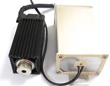 Focusable 445nm-450nm 2000mW/2W Blue Laser Module/TTL Modulation with PSU