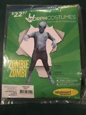 Halloween Costume Morph costume Zombie Boys Large 10-12 New