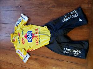 Assos Mens XL Vintage Racing Cycling Speedsuit Swiss Campagnolo Nissan Skinsuit