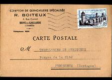 """BRIVE (19) QUINCAILLERIE SPECIALISEE """"R. BOITEUX"""" en 1957"""