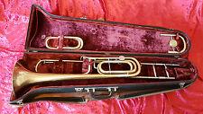 """FORINT Karl Mönnich trombone """"Karolus"""" ORO, OTTONE, umore BB/F/ES"""