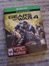 Gears of War 4: Ultimate Edition (Microsoft Xbox One, 2016) Sealed
