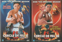 LE CERCLE DE FEU 2 et 3 ... DON THE DRAGON WILSON ... LOT 2 DVD