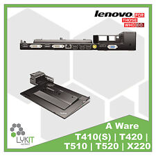 Lenovo Dockingstation 4338 Thinkpad T410 | T420 | T430 | T520 | T530 | X220 | A