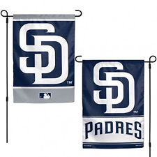 """San Diego Padres MLB Garden Flag Double Sided Licensed 12"""" x 18"""""""