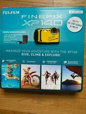 New Fujifilm FinePix XP140 Digital Camera WiFi 4K Waterproof Shockproof Bundle