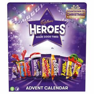 Cadbury's Heroes Cadbury Chocolate Christmas Advent Calendar 230g (NEW 2021)