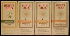 4 Burt's Bees Sensitive & Brightening Moisturizing Cream Combo, 1.8 oz each
