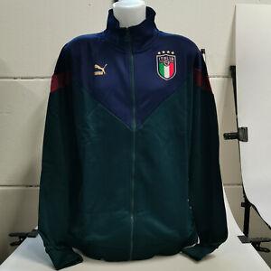 Puma FIGC Italien Nationalmannschaft Trainingsjacke Italia 756659-02 Herren XXL