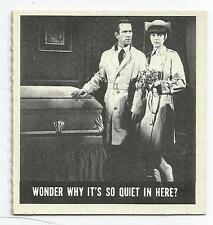 "1966 Topps GET SMART #57 - ""Wonder Why It's so Quiet..."" - NM/MT!!!"