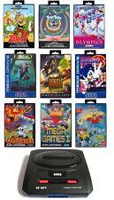 ## SEGA Mega Drive 2 Konsole + Pad + Strom- & TV-Kabel + Sonic 3 und mehr !!! ##