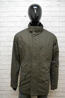 Parka Uomo Henry Cotton's Taglia 54 Giacca Giubbotto Cappotto Jacket Man Casual