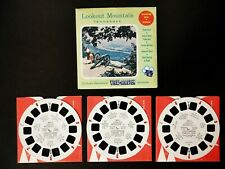 🎬Viewmaster U.S.🎬Lookout Mountain, Tennessee🎬S3 Sawyers View-Master set mint