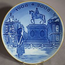 ROYAL COPENHAGEN 2006 Christmas Centennial Plate #3 - Amalienborg Palace