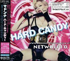 Madonna - Hard Candy - CD + Bonus Track (Ring My Bell) - Japan with OBI - Sealed