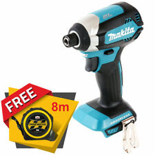 Makita DTD153 18V LXT Brushless Impact Driver + Free Tape Measures 8M/26ft