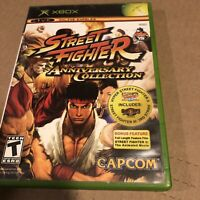 Street Fighter Anniversary Collection (Microsoft Xbox, 2005)