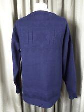 Guernsey Woollens 100% Wool Navy Blue Guernsey Jumper - L C44 EXCELLENT COND