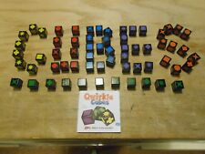 Quirkle/Qwirkle Cubes REPLACEMENT PIECE/CUBE Red Orange Blue Yellow Green Purple
