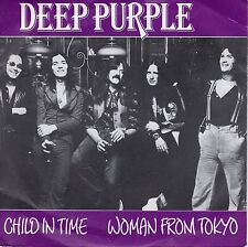 7inch DEEP PURPLE child in time - woman from tokyo HOLLAND BR MUSIC EX