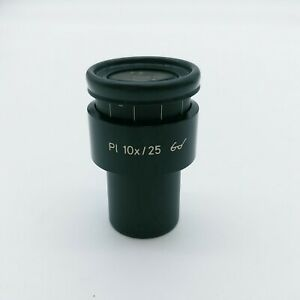 Zeiss Microscope Eyepiece Pl 10x/25  444034 with Reticle