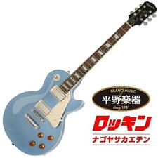 Epiphone Les Paul Standard Pelham Blue beutiful JAPAN rare useful EMS F/S*