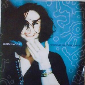 "ALISON MOYET - Wishing You Were Here ~ 7"" Single PS"
