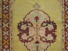 Antique Turkish Oushak Ushak Rug Size 3'x5'