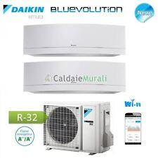 CONDIZIONATORE DAIKIN DUAL SPLIT EMURA WHITE Wi-Fi R-32 Bluevolution 9+9+2MXM50M