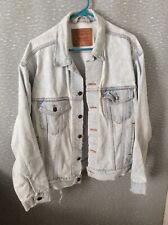 Levi Strauss Vintage Denim Jacket * Light Denim 70507 - 4834 Mens Medium