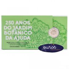 Pièce 2 euros commémorative PORTUGAL 2018  Jardin Botanique - Belle Epreuve