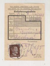 SLOVENIA,Germany WW II document KRAINBURG KRANJ to Dachau 1944,concentration