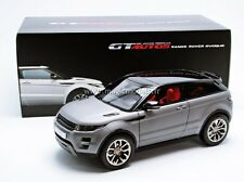 Welly 2012 Range Rover Evoque Grey GT Autos Series 1/18 Scale. New! In Stock!