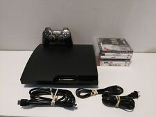 Sony PlayStation 3 PS3 Slim Bundle: 320 GB Console /w 1 Controller & 6 Games