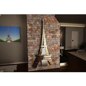 Radiator Central Heating Vertical Panel Designer Stainless Steel Eiffel Tower