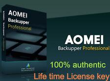 AOMEI Backupper Professional - unlimited License key - 100% 0riginal E-mail