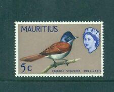 Mauritius 1965 5c Mascarene Paradise Flycatcher Bird SG 320  MLH