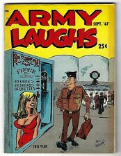Army Laughs Vol. 17 No. 8 Sept. 1967 - Don Orehek cover - Bill Wenzel back cover