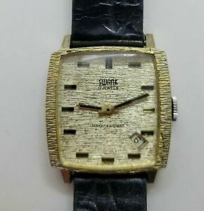 Vintage Swank 17 Jewel Men's Watch