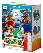 Mario & Sonic AT Rio Olympics Remote controller Plus Nintendo Wii U WUP-R-ABJJ