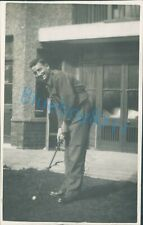 WW2 Royal Engineers Soldier playing Golf by Jerome ltd unposted